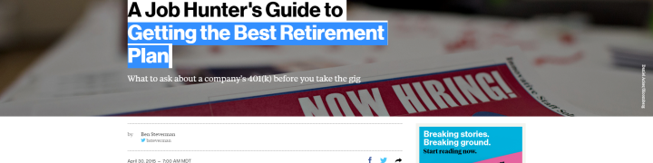 Best Retirement Plan